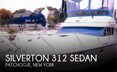 Used Silverton Boats For Sale in New York by owner | 1994 Silverton 312 Sedan