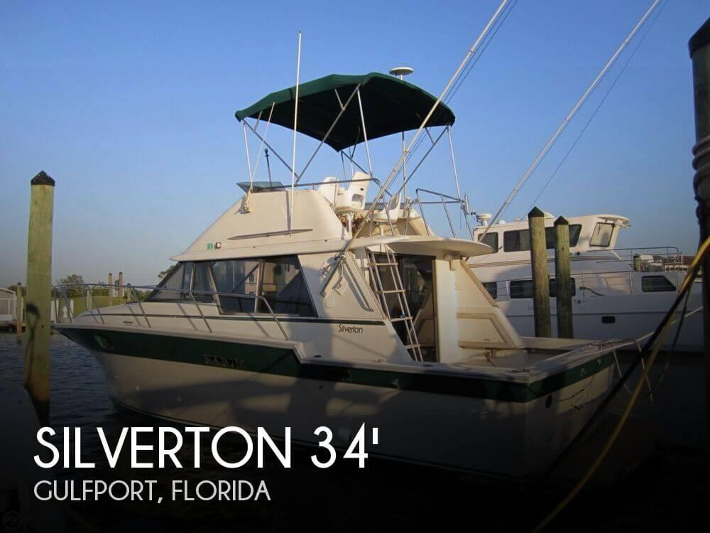 1984 Silverton 34 Convertible - Photo #1