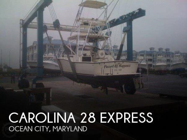 1999 Carolina Classic 28 Express for sale