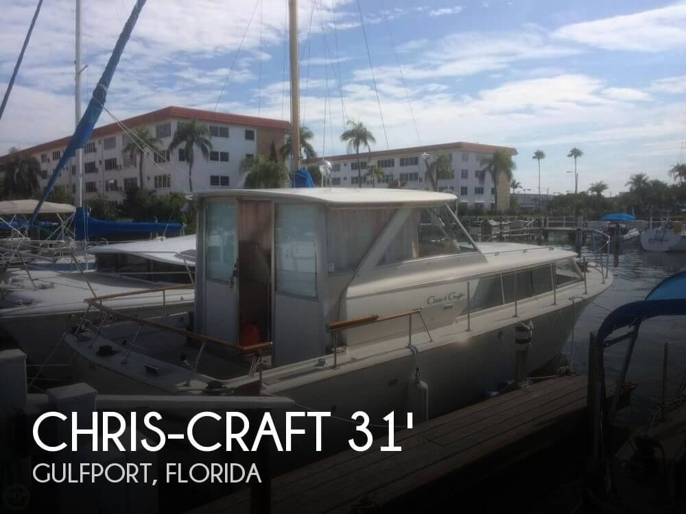 1971 Chris-Craft 31 Commander - Photo #1