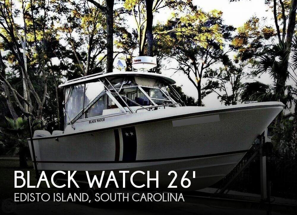 1989 Black Watch 26 Sportfisherman for sale