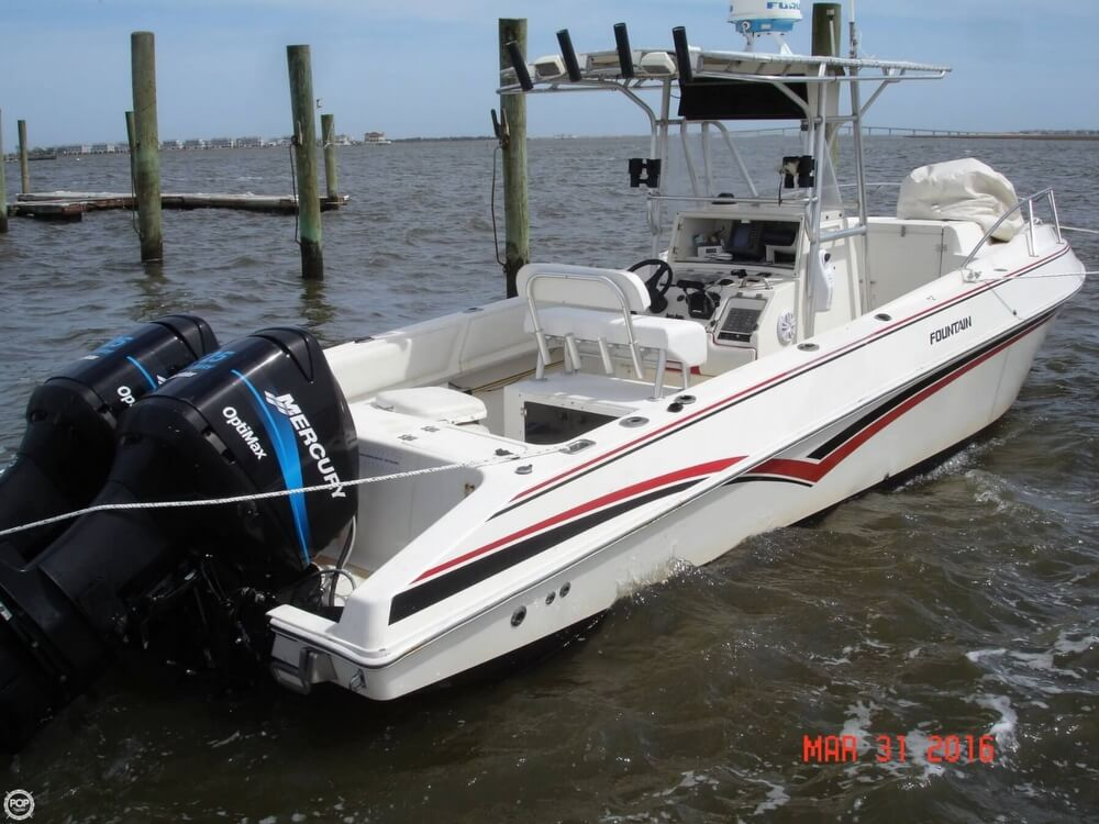 1994 Fountain Sportfish 31 TE - Photo #8