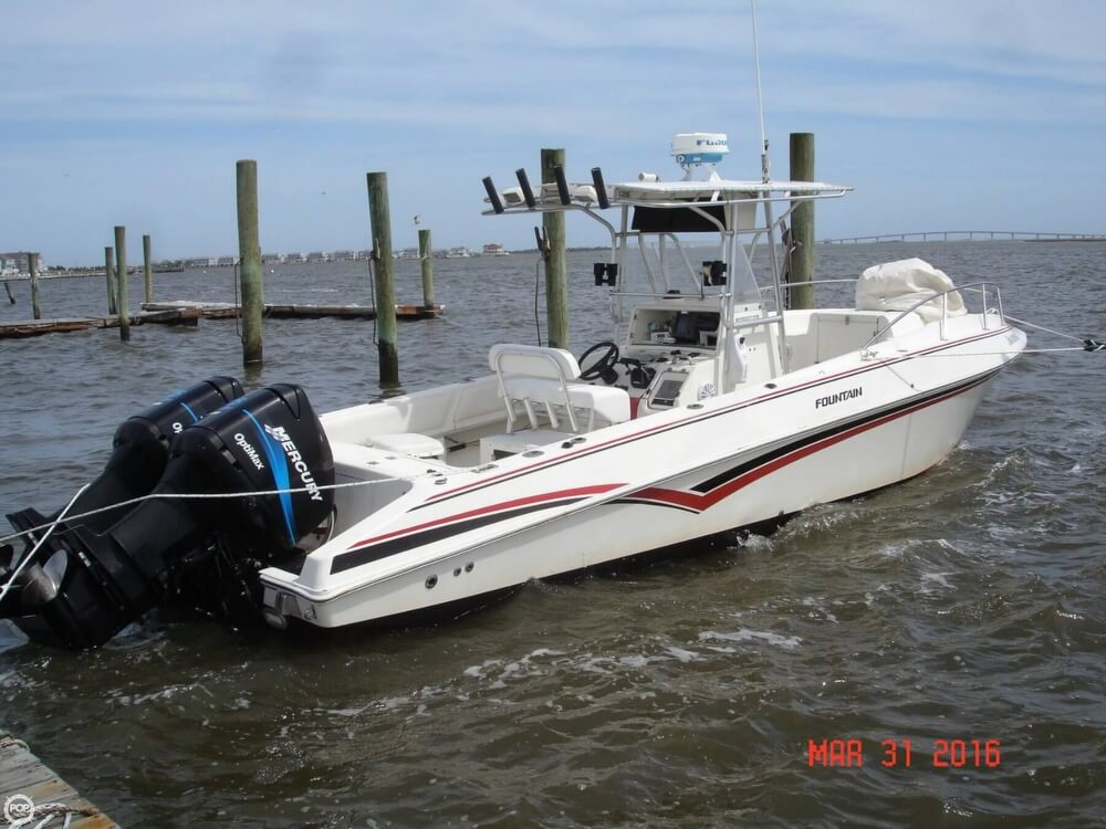 1994 Fountain Sportfish 31 TE - Photo #9