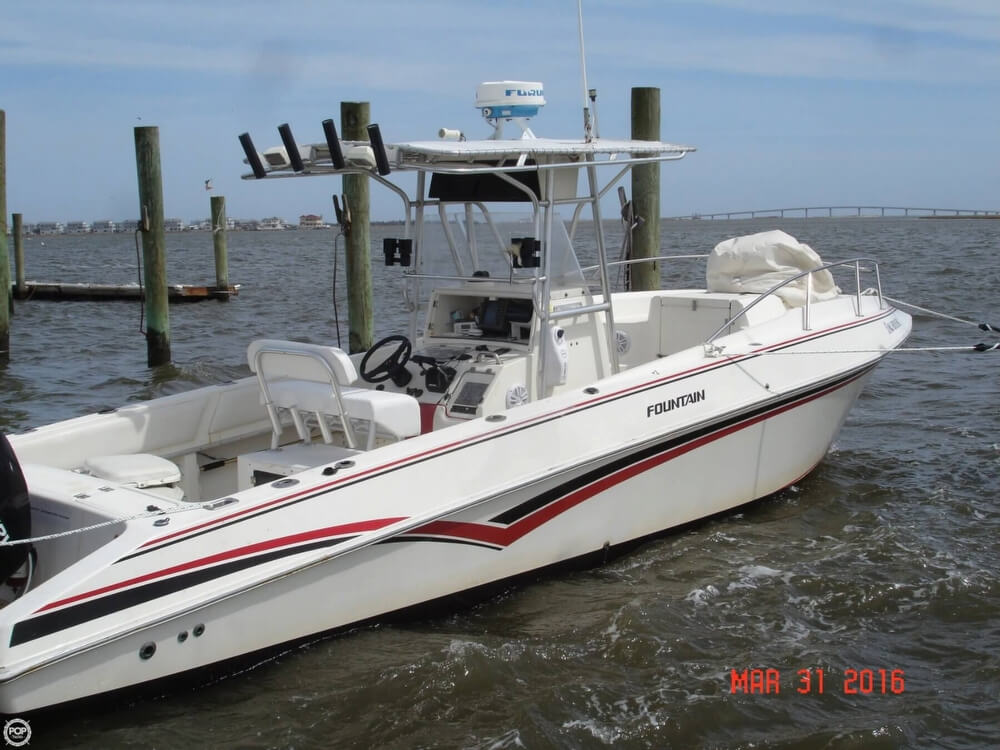 1994 Fountain Sportfish 31 TE - Photo #10