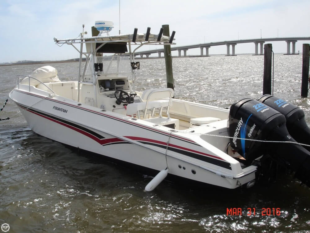 1994 Fountain Sportfish 31 TE - Photo #11