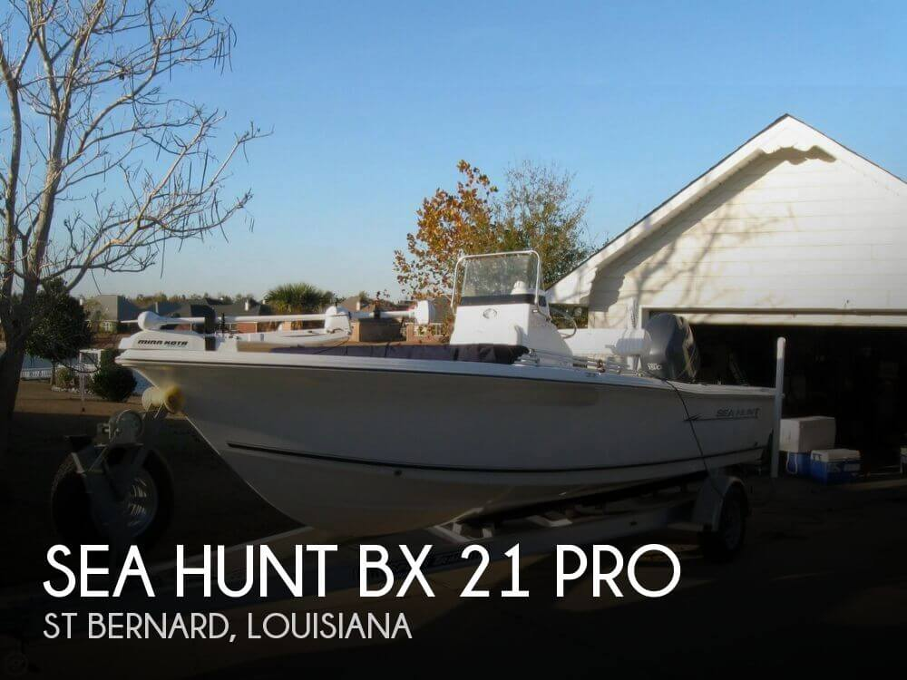 2008 Sea Hunt BX 21 Pro for sale