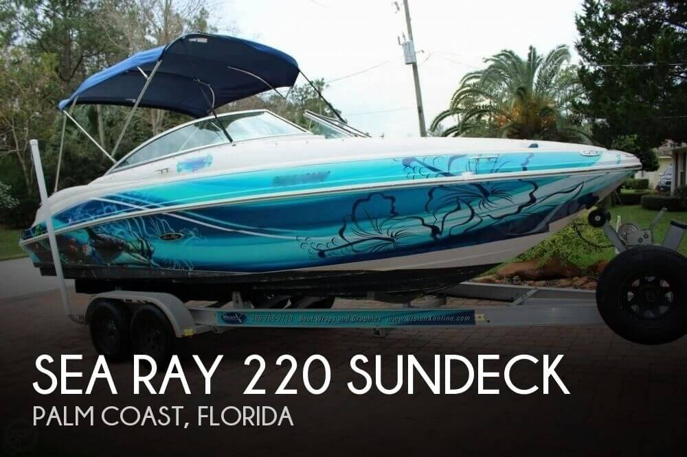 2004 Sea Ray 220 Sundeck - Photo #1