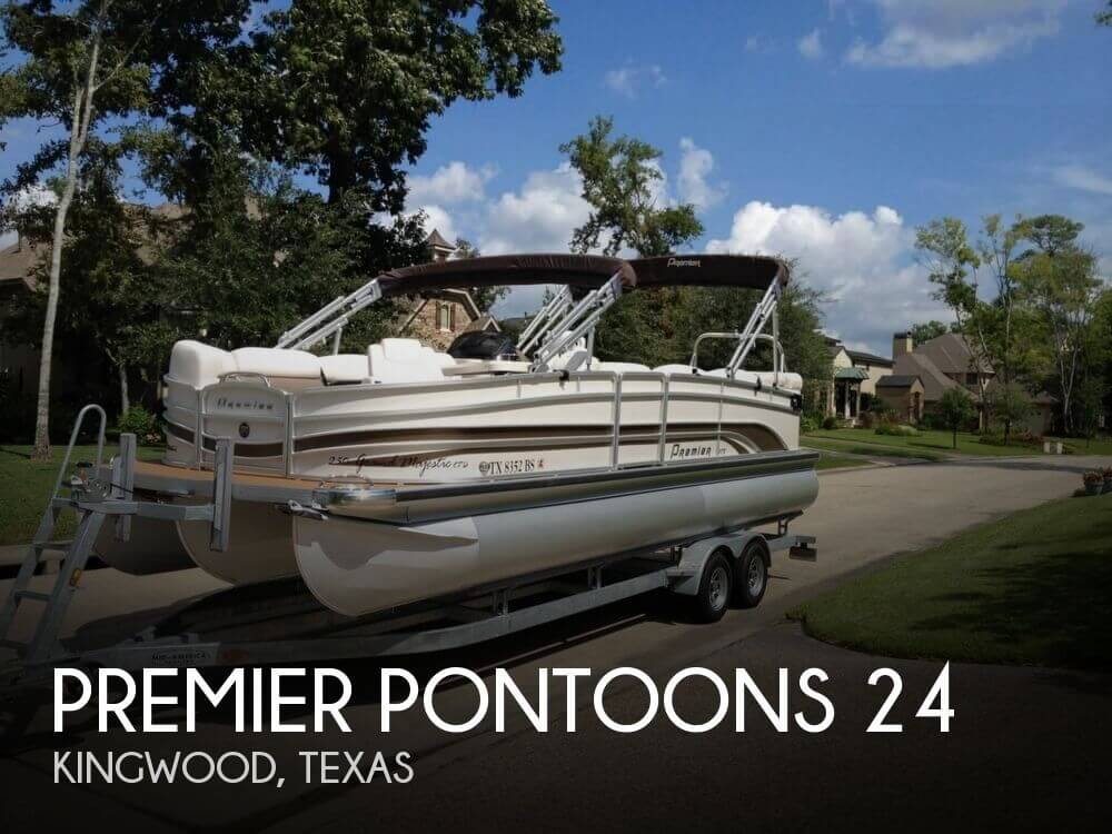 Used Pontoon Boats For Sale in Texas by owner | 2011 Premier Pontoons 24