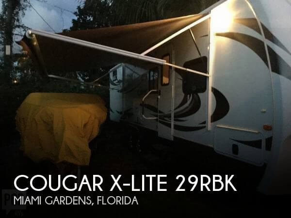 2012 Keystone Cougar X-Lite 29RBK