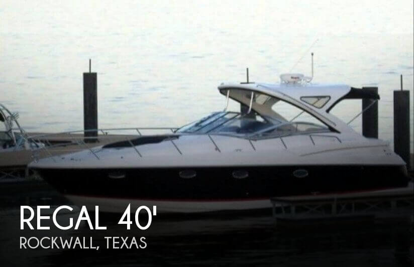 Used Boats For Sale in Dallas, Texas by owner | 2007 Regal 40
