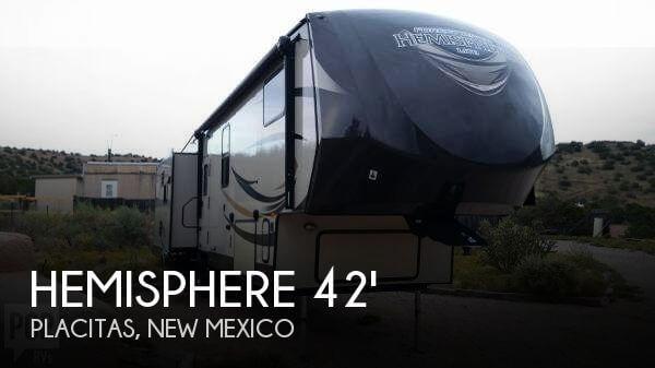 2015 Forest River Hemisphere M-368RLBH