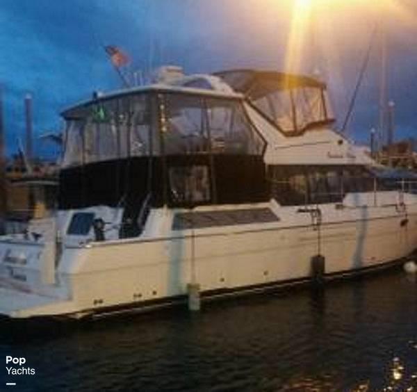 1995 Bayliner boat for sale, model of the boat is 4587 Cockpit Motor Yacht & Image # 4 of 38
