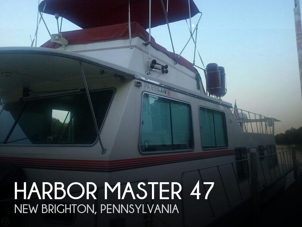 Used Boats For Sale in Youngstown, Ohio by owner | 1985 Harbor Master 47