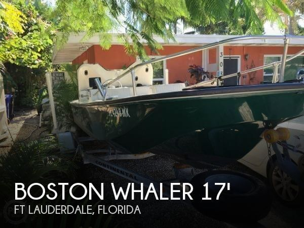 1989 Boston Whaler 17 Super Sport - Photo #1