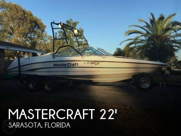 1996 Mastercraft Maristar 225 VRS LT1 - Photo #1