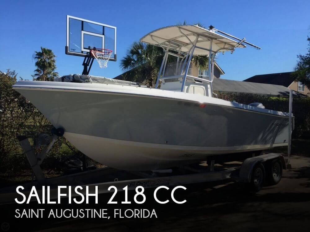 2007 Sailfish 218 CC for sale