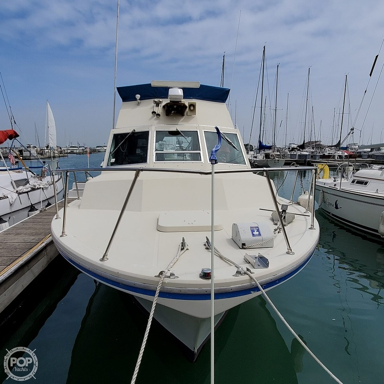 1977 Stamas boat for sale, model of the boat is 32 Sport Sedan & Image # 2 of 40