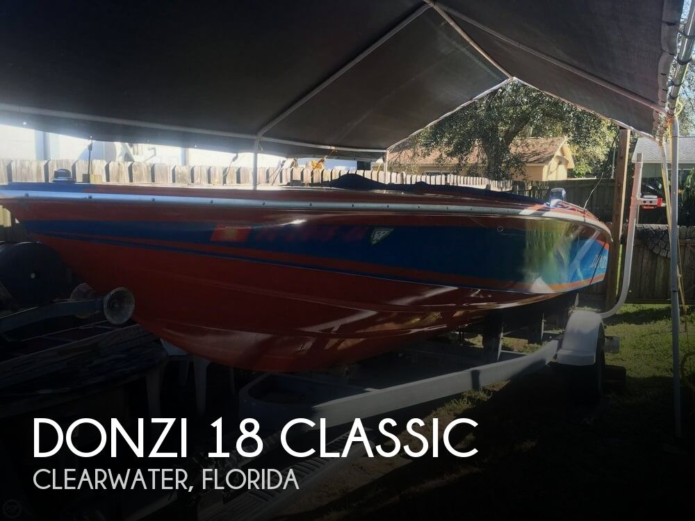 1980 Donzi 18 Classic - Photo #1