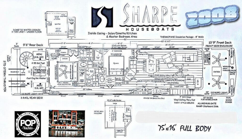 2008 Sharpe 75 Blueprints