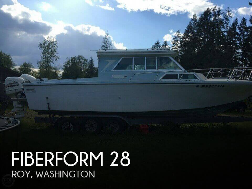 Used Fiberform Boats For Sale by owner | 1972 Fiberform 28