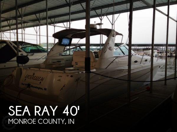 1999 Sea Ray 400 Sundancer - Photo #1