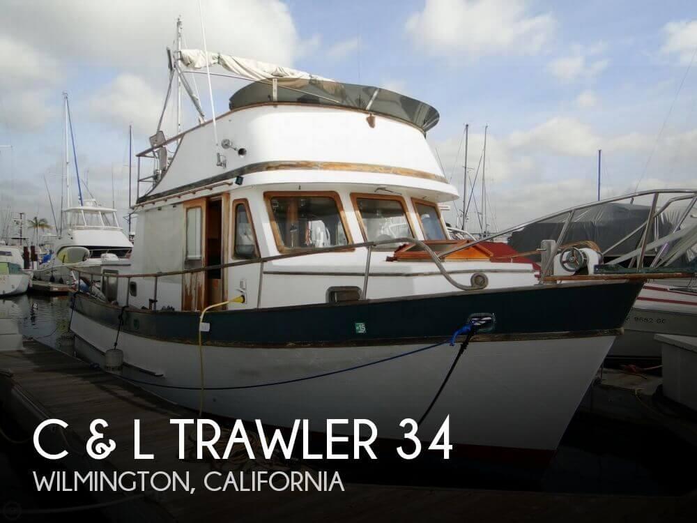 1977 C & L Trawler 34 - Photo #1