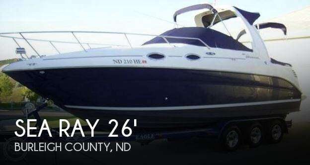 Used Boats For Sale in North Dakota by owner | 2004 Sea Ray 260 Sundancer