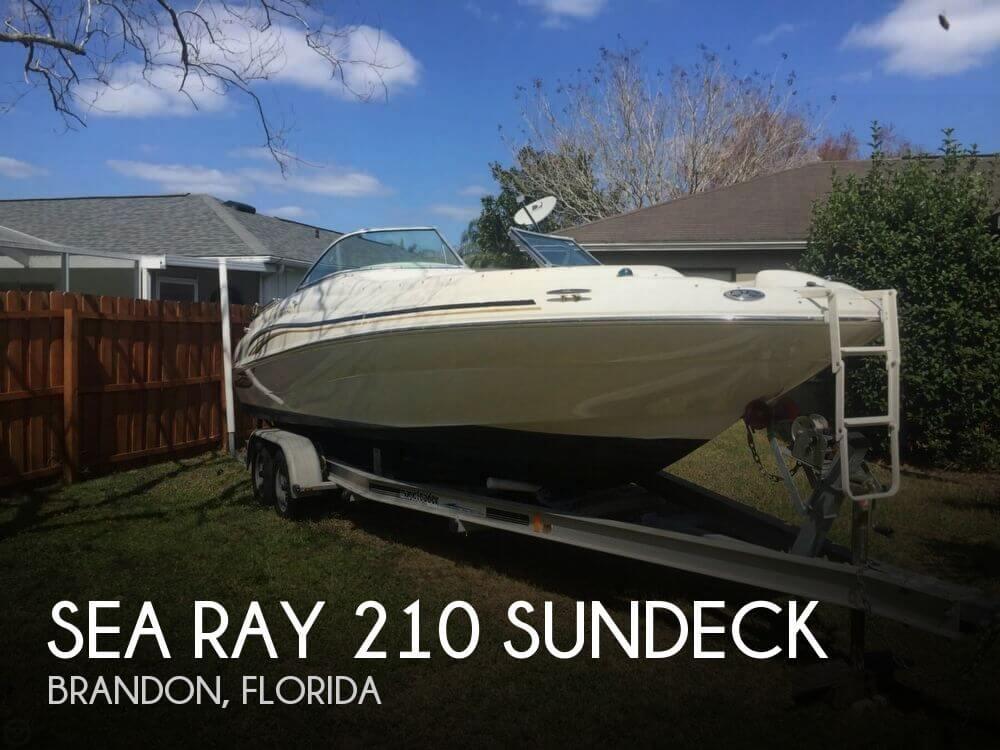 2001 Sea Ray 210 Sundeck - Photo #1