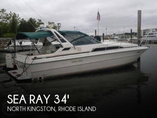 1989 Sea Ray 340 - Photo #1