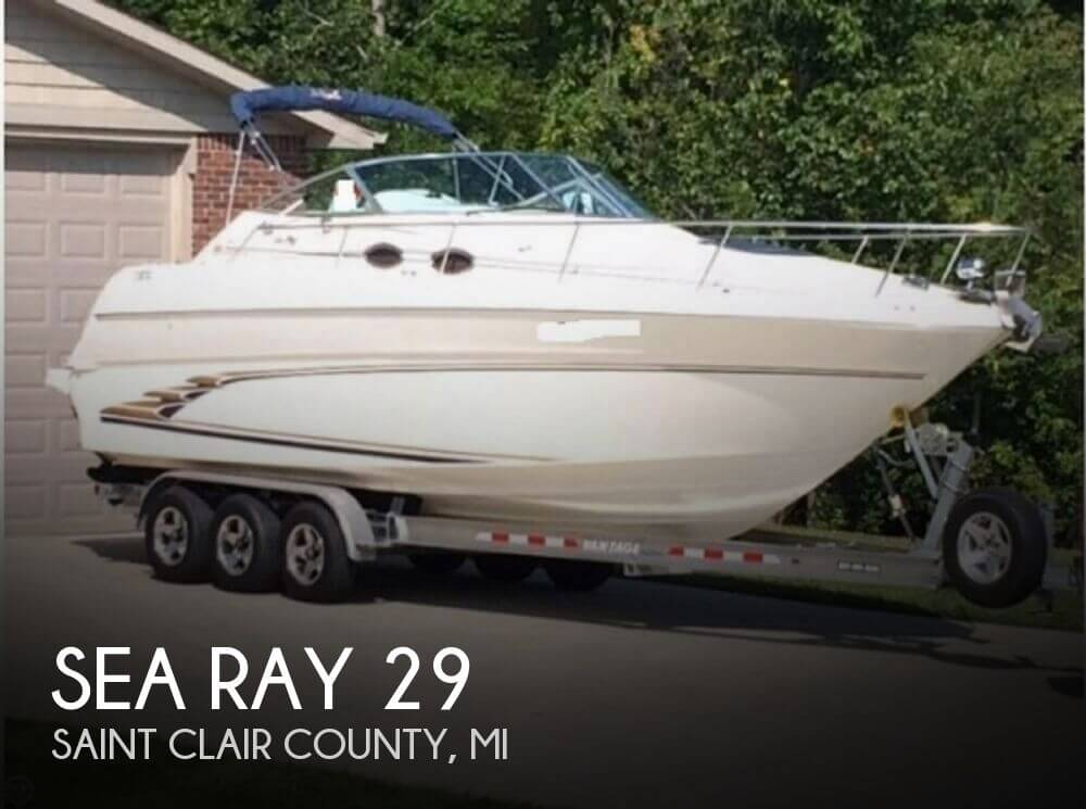 1998 Sea Ray 29 for sale