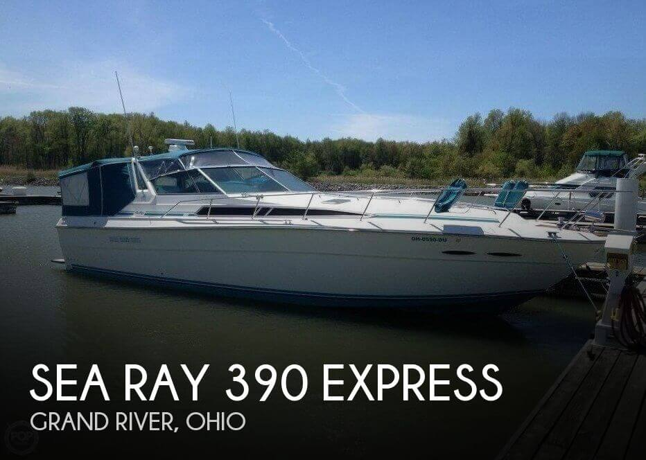 1989 Sea Ray 390 Express for sale