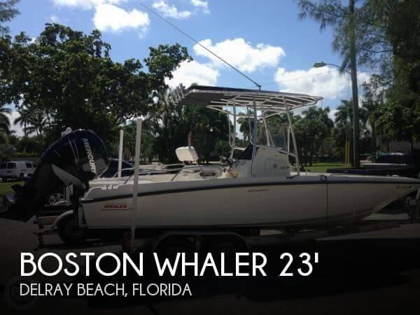 Boston whaler 230 dauntless for sale in delray beach fl for Delray beach fishing