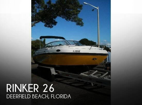 Used Rinker Boats For Sale in Florida by owner | 2010 Rinker 26