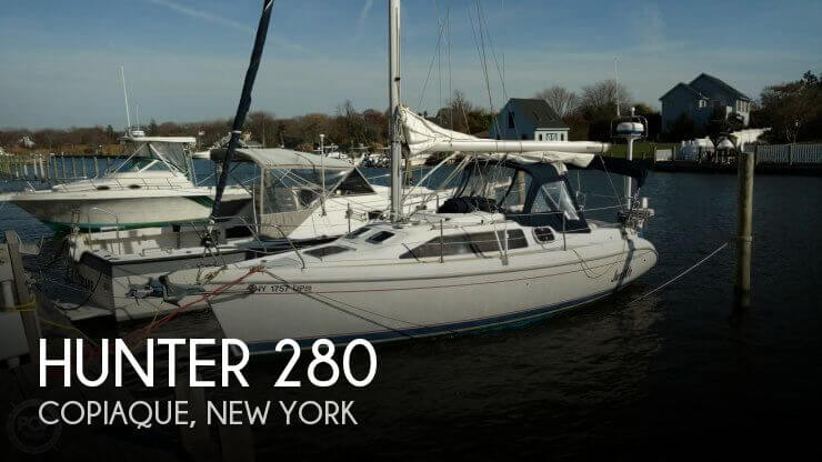 Used Hunter Sailboats For Sale in New York by owner | 1998 Hunter 28