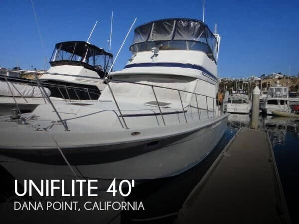 Used Uniflite Boats For Sale by owner | 1984 Uniflite 40