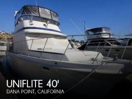 1984 Uniflite 41 Yacht Fisherman