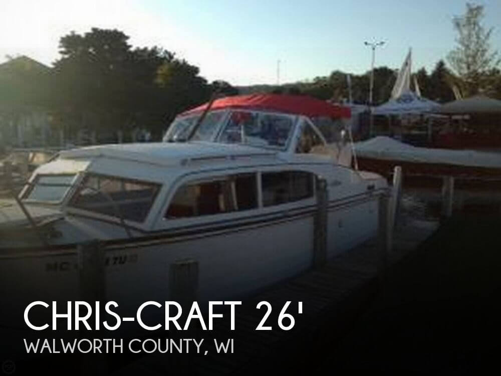 1957 Chris Craft Sea Skiff 26 Cabin Cruiser for sale