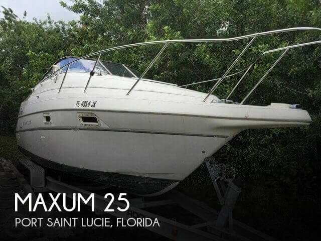 Used Boats For Sale by owner | 1999 Maxum 25