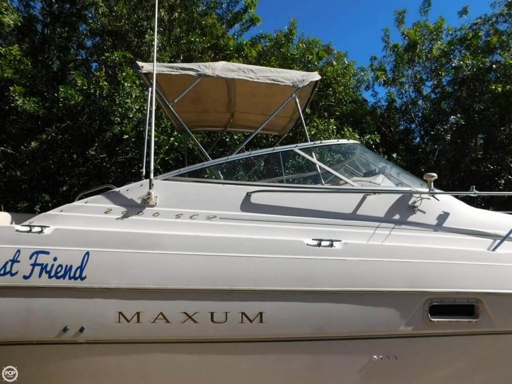 1999 Maxum 2400 SCR - Photo #5