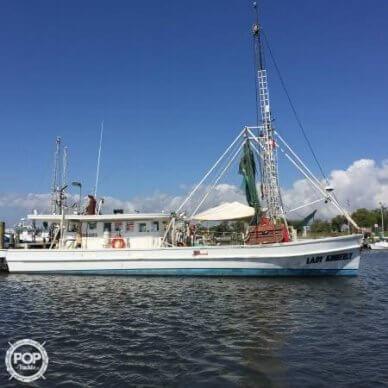Biloxi Lugger Shrimp boat, 54', for sale - $32,900